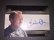 Game Of Thrones Valyrian Steel Autograph Card Of Iain Glen.