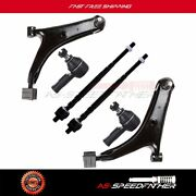 1998-2001 For Chvey Metro 6pcs Lower Control Arms Inner Outer Tie Rods Kit