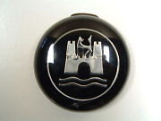 Vintage Vw Oem Horn Button Black And Chrome On Hand Ships Today 4