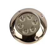 Underwater Boat Light Surface-mount Ss Led Round By Sea-dog 406160