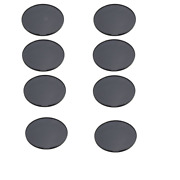 8x 72mm Adhesive Car Dashboard Mount Disk Pad Plate Fr Universal Suction Gps