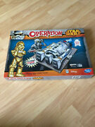 Disney Operation Board Game Star Wars Edition By Hasbro C-3po R2-d2 Droid Doctor