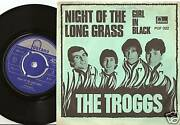 The Troggs Long Grass And Girl In Black Danish Norway 45+ps 1967 Mod Freakbeat
