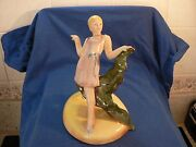Beswick Lady Standing On A Base 441 Extremly Rare ..