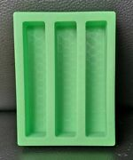Silicone Pen Blank Casting Mould / Mold 2/3 Cavity Pen-turning Resin Casting