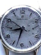 Vintage C50and039s. Breitling Hand Wind Good Condition Chronograph