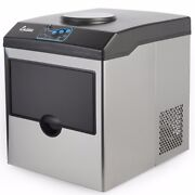 Electric 5 Gallon Cool Water Dispenser W/ Built-in Ice Maker Machine Countertop