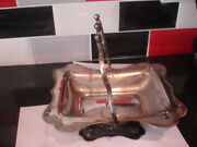 Silver Plated Serving Dish - Footed And With Handle - Epns 538239