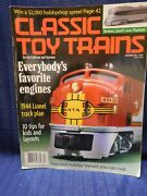 Classic Toy Trains 1998 December 10 Tips Favorite Engines 1944 Lionel Track Plan