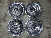 1967 67 Mercury Cougar Xr7 Hubcaps Wheel Covers Center Caps Ford Fomoco Vintage
