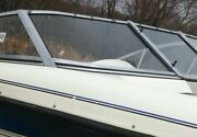 Starboard Curved Glass Windshield Panel Only Off 95 Gw Invader Bravo 180 Window