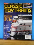 Classic Toy Trains 1998 July Atlas O Switches Bascule Bridge Mth Trolley F3s