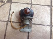 Early Fender Nos Do Ray 1106 Triple Jewel Amber Red Vintage Auto Truck Light