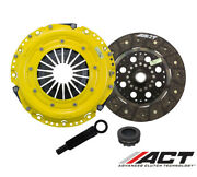 Act Hd/perf Street Rigid Clutch Kit For 2005-08 Audi S4 / Rs4 4.2l
