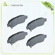 4x Front Low Dust Ceramic Brake Pads For 1993-1997 Toyota Corolla / Geo Prizm