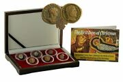 First Days Of Christmas Box Of 6 Ancient Coins Pertaining To The Nativity Of Je