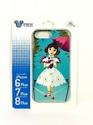Disney Haunted Mansion Tightrope Stretching Portrait Iphone 6s/7/8 Plus Case New