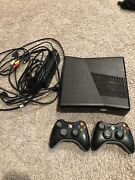 Microsoft Xbox 360 S Launch Edition 4gb Black Console And 15 Games