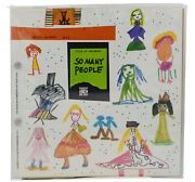 So Many People By Bruno Munari First Us Edition 1983 Tantagente 1st Art