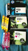 Genuine New Hp 920xl 920 9-ink Cartridges For Officejet Hp