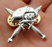 10 Pcs Us Army Military Special Forces Hat Cap Pin Badge Insignia Silver-a2062
