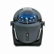 Compass Ritchie Explorer Gray Body Blue Dial On The Bracket B51g