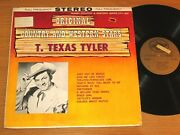 Stereo Country Lp - T.texas Tyler - Design 602 - Country And Western Stars