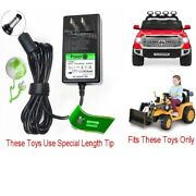 12v Circle Charger For Little Tikes Tractor Dirt Digger And Toyota Tundra