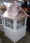 36and039and039 Vinyl Window Cupola/beautiful And High Quality