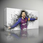 Choose Your Football Player 'paint Splatter' - Canvas Wall Art Picture Print
