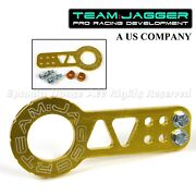 For Scion Subaru Bolt On Jdm Gear Styleus Track Use Billet Gold Front Tow Hook