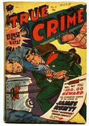 True Crime 4 1948-morphine / Dope-jack Cole-canadian Edition-rare Golden-age