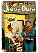 Supermanand039s Pal Jimmy Olsen 1-1954-dc-elusive Issue-comic Book