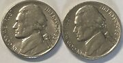 1988 P And D 2 Coin Jefferson Nickel Set