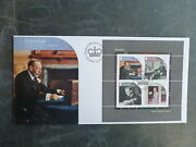 Gibraltar 2017 House Of Windsor Centenary 4 Stamp Mini Sheet Fdc First Day Cover
