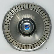 Vintage 1964 Ford Galaxie 500 Xl Ltd Hubcap And Wheel Cover Blue Center