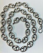 Sterling Silver Anchor Style Chain