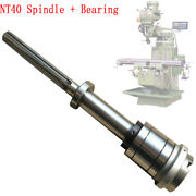 1set Bridgeport Mill Part Milling Machine Nt40 Spindle + Bearings Assembly