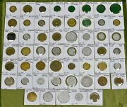 53 Different Idaho Trade Tokens Us Trade Tokens Lot Of 53
