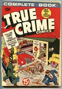 Complete Book Of True Crime Nn-crime Does Not Pay 22 24-rare Giant Comic