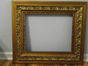 Vintage Ornate Wood Gesso Picture Frame 26 1/4 X 30 1/4 Fits 16 X 20