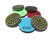2 Inch 50mm 5mm Thickness Wet Diamond Polishing Pad For Marble Granite Glass