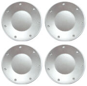 Set Of 4 New Silver 16 Wheel Hub Center Caps For 2003-2004 Cadillac Cts