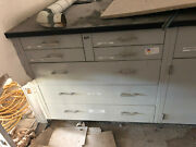 16and039 Of St Charles Standing Lab Casework Benches With Counter Tops