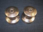 Pair Of Barient 22 Two Speed Winches Stainless Steel
