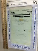 Microscale Decal Ho 87-705 Norfolk Southern Enclosed Auto Racks Free Shipping