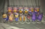 Lot Of 13 Mcdonalds Series Variety 16 Oz Collectible Glasses