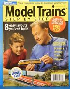 Model Trains Step By Step Model Railroader Special Issue 2006 Soft Cover No Dvd