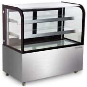 Marchia Mb48 48 Floor Model Curved Glass Refrigerated Display Case