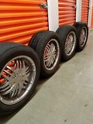 17 Set Of 4 Wheels With Tires